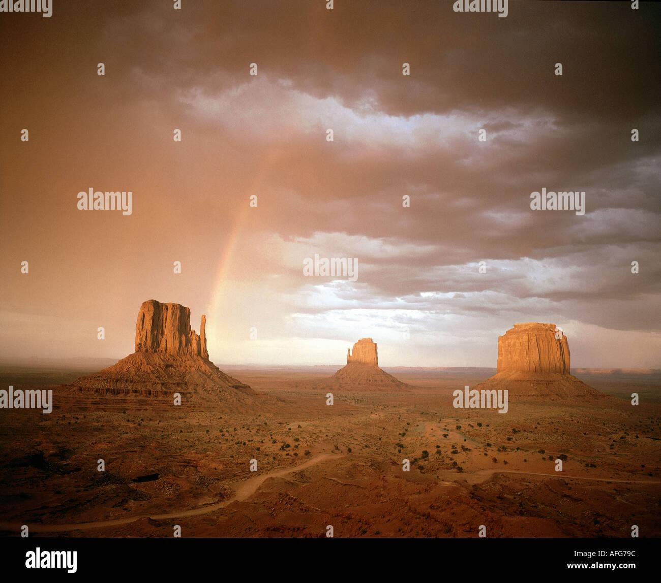 USA - ARIZONA: Monument Valley Photo Stock