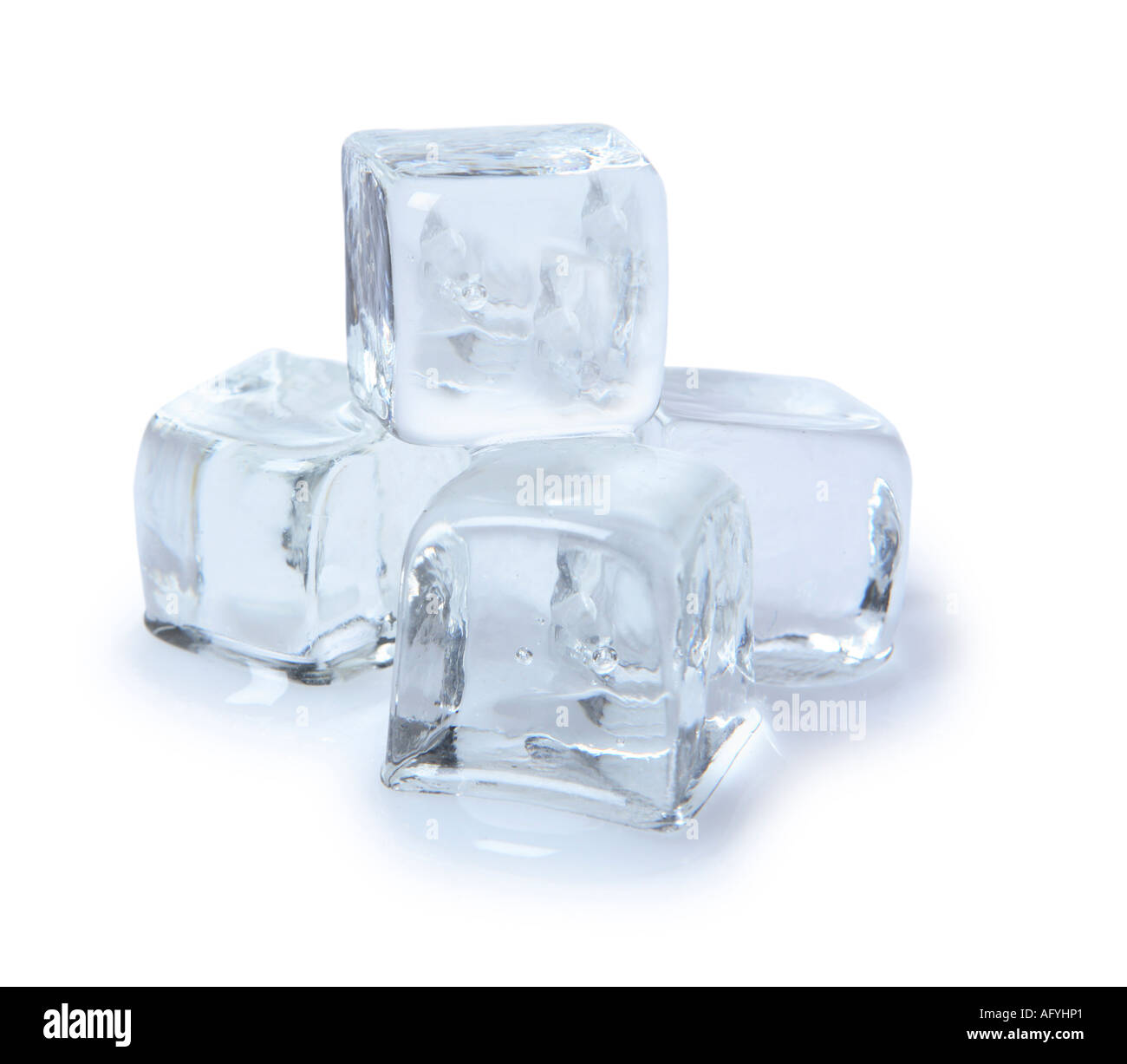 Cubes de glace Photo Stock