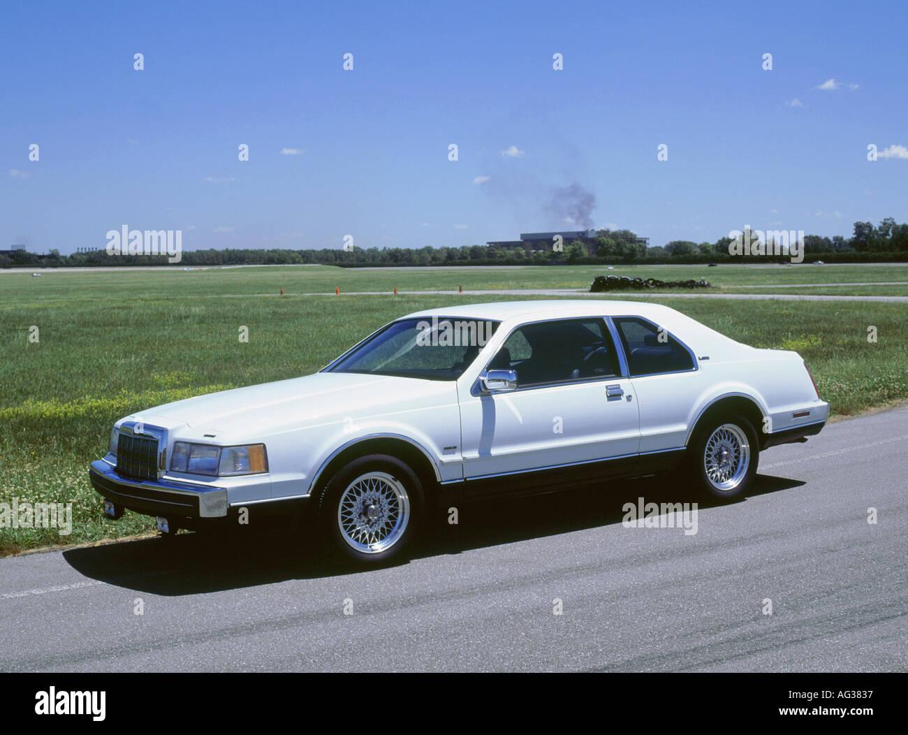 1991 Lincoln mk 7 LSC Banque D'Images