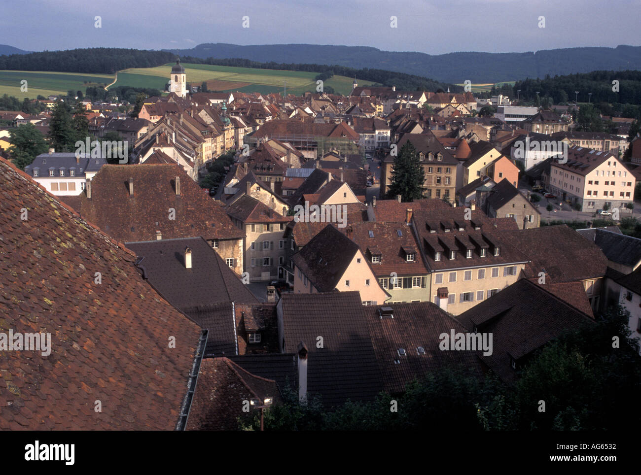 AJ16355, Suisse, Jura Banque D'Images