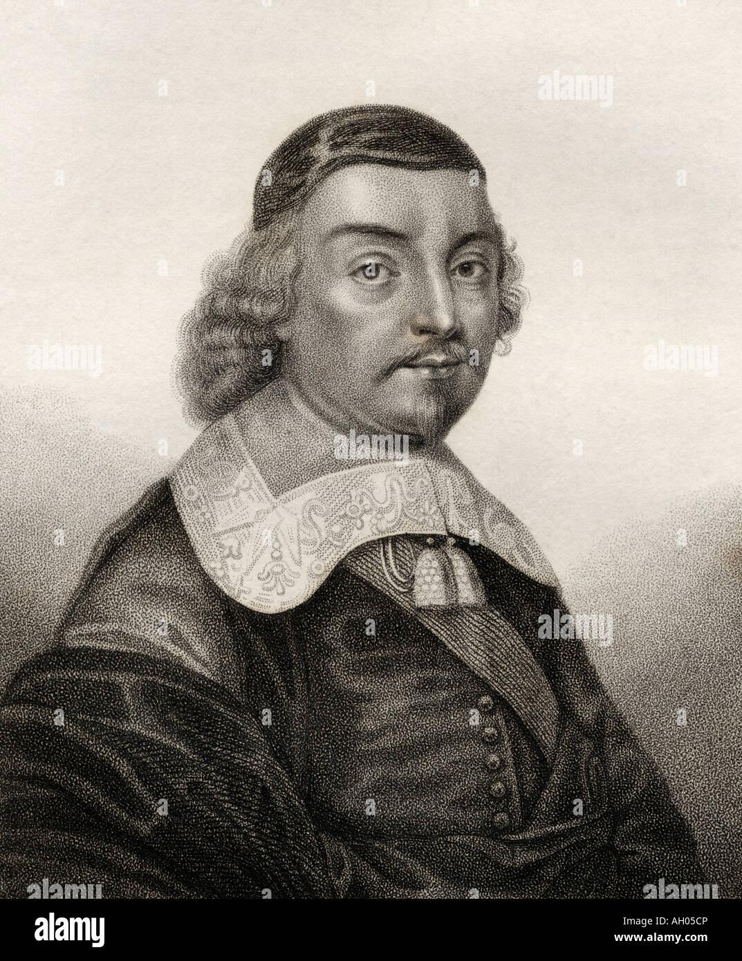 Mildmay Fane, 2e comte Westmorland, 9e Lord de Despenser, 1602-1666. Noble anglais, politicien et écrivain. Banque D'Images