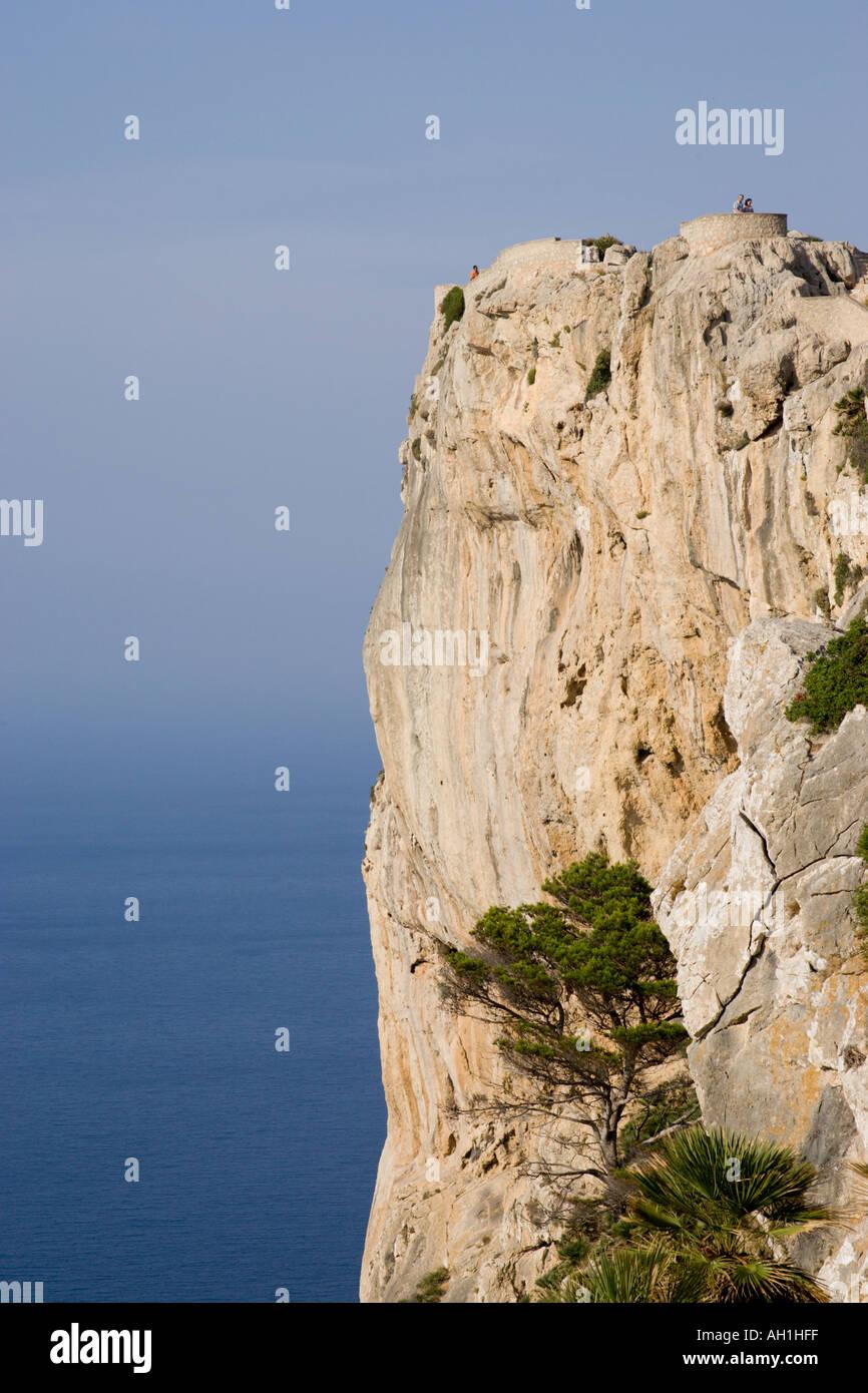 Mirador de Mal Pas Majorque Espagne Photo Stock