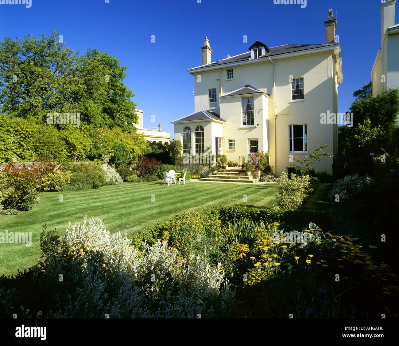 Go - GLOUCESTERSHIRE: Parkgate Villa dans Cheltenham Photo Stock