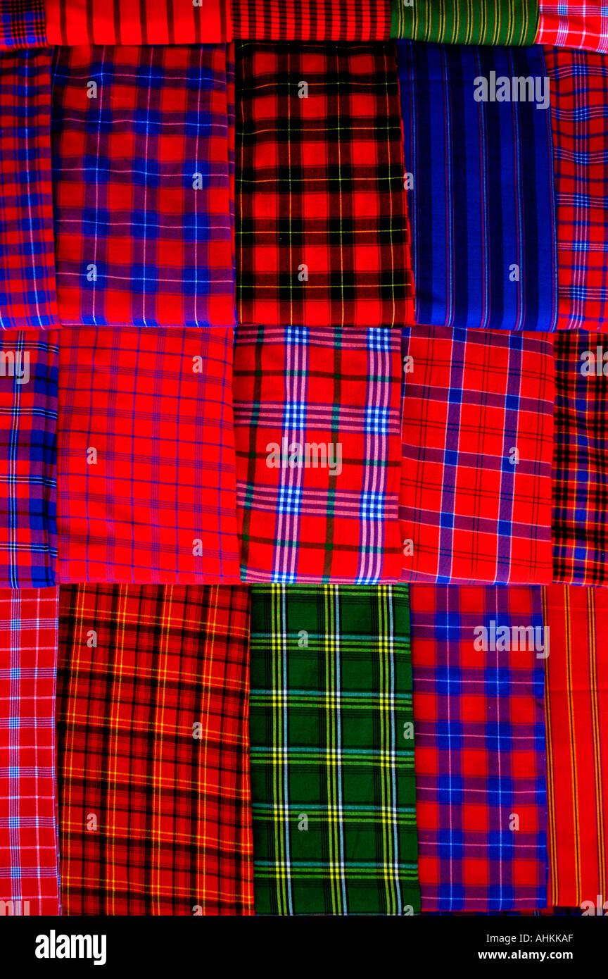 Afrique Kenya Tanzanie tabliers rideaux tissu collier fashion du ...