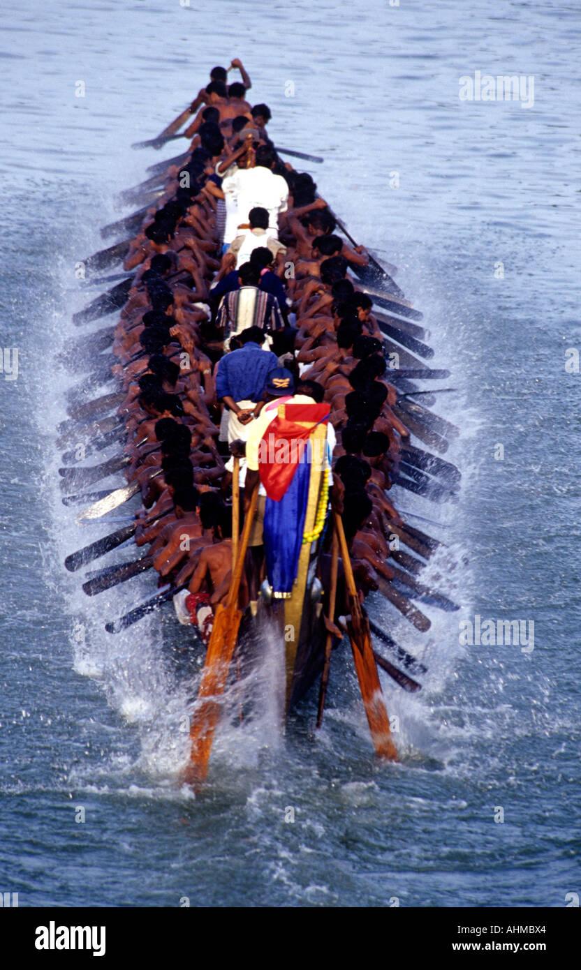 NEERETTUPURAM BOAT RACE KERALA Photo Stock