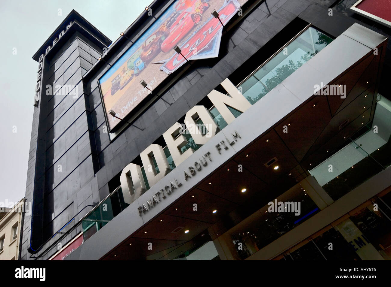 Cinéma Odeon Leicester Square Londres Photo Stock