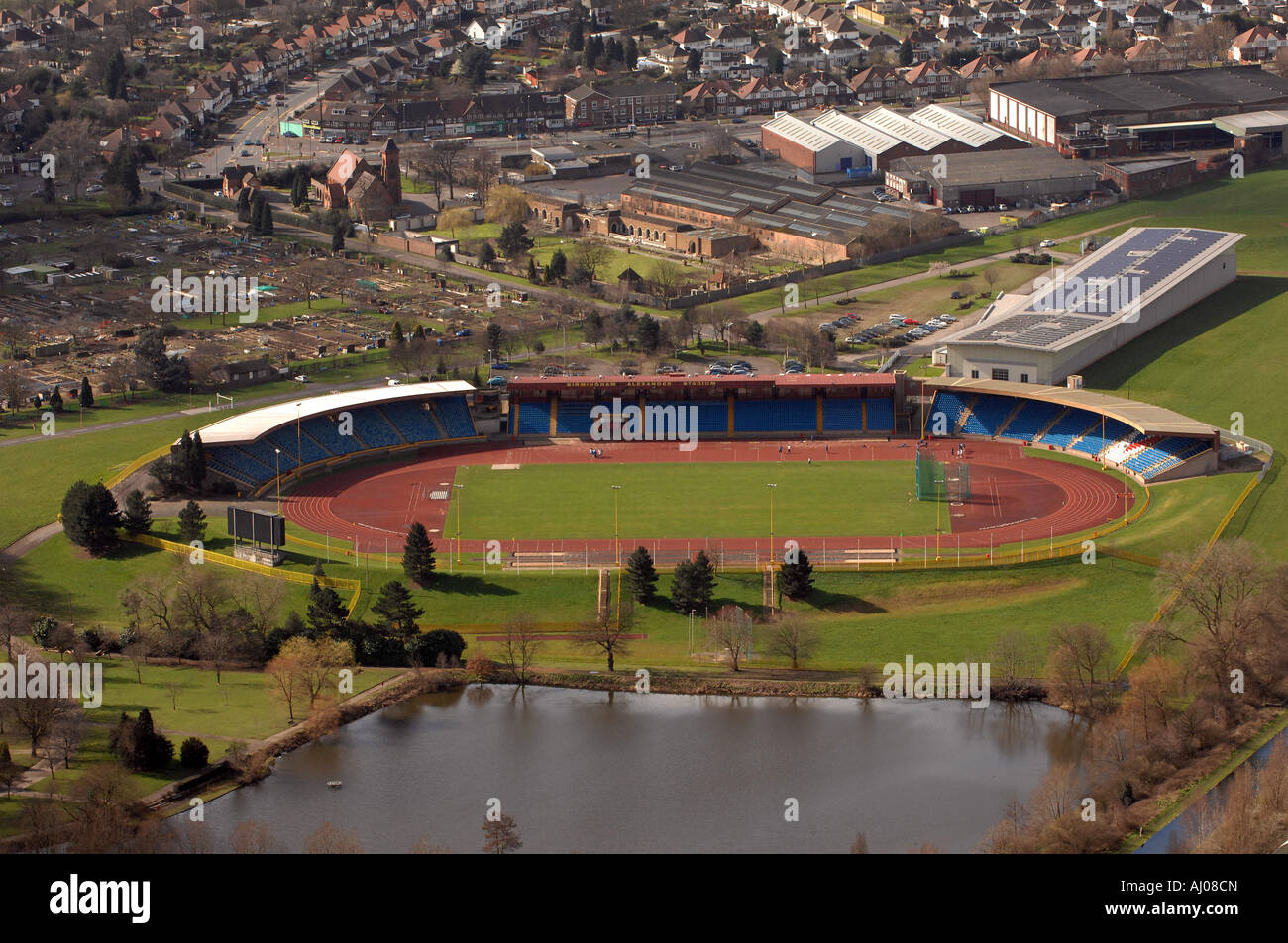 Stade Alexander Perry Barr Birmingham West Midlands, Angleterre Photo Stock