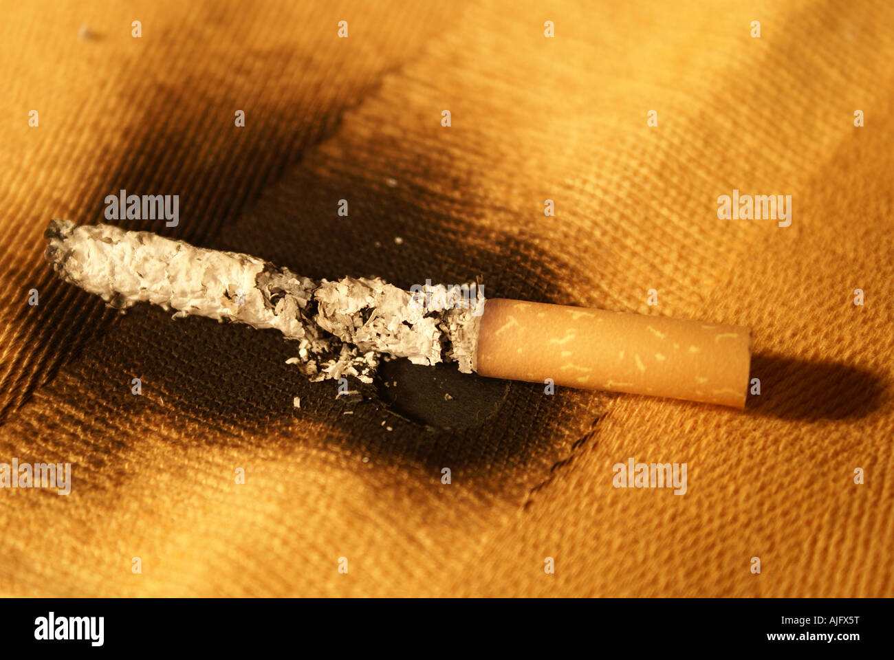feu de la cigarette Photo Stock