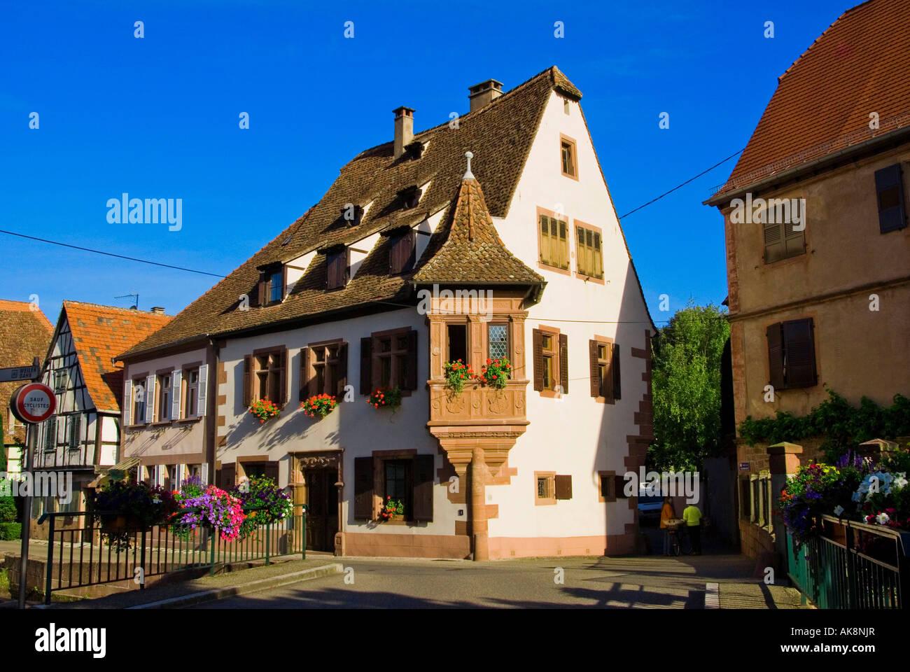 Maison Ami Fritz / Wissembourg Photo Stock