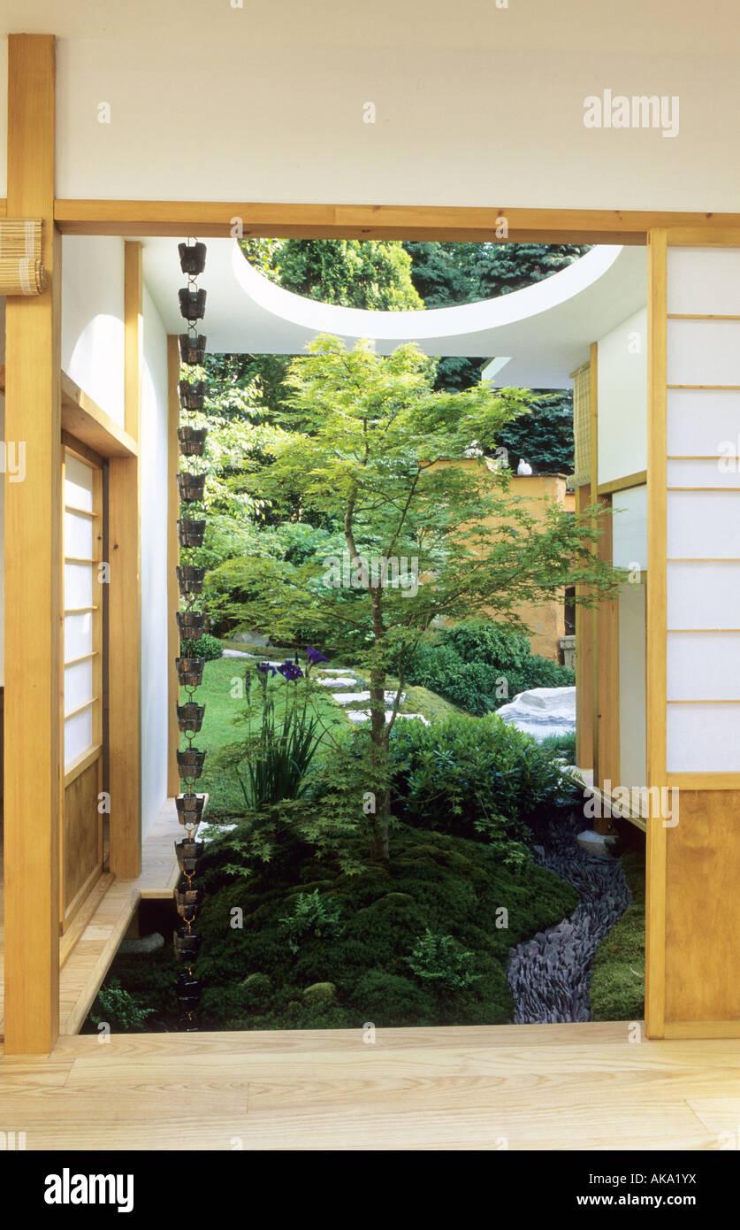 chelsea flower show 2004 jardin japonais plateau maison avec jardin intrieur acer palmatum