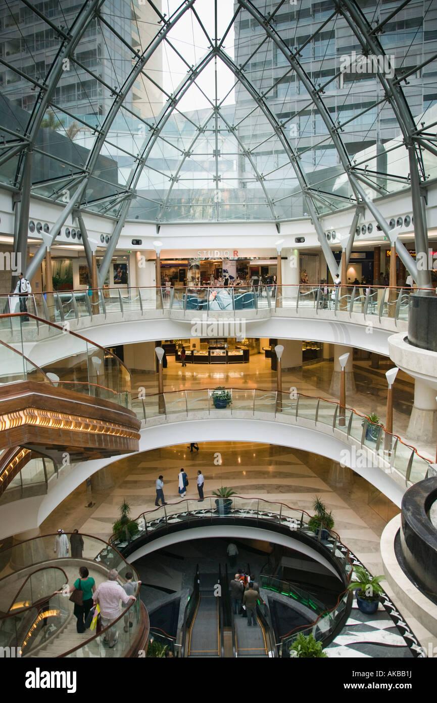 Émirats Arabes Unis, Dubai, Dubai, Bur Juman Center Mal Photo Stock