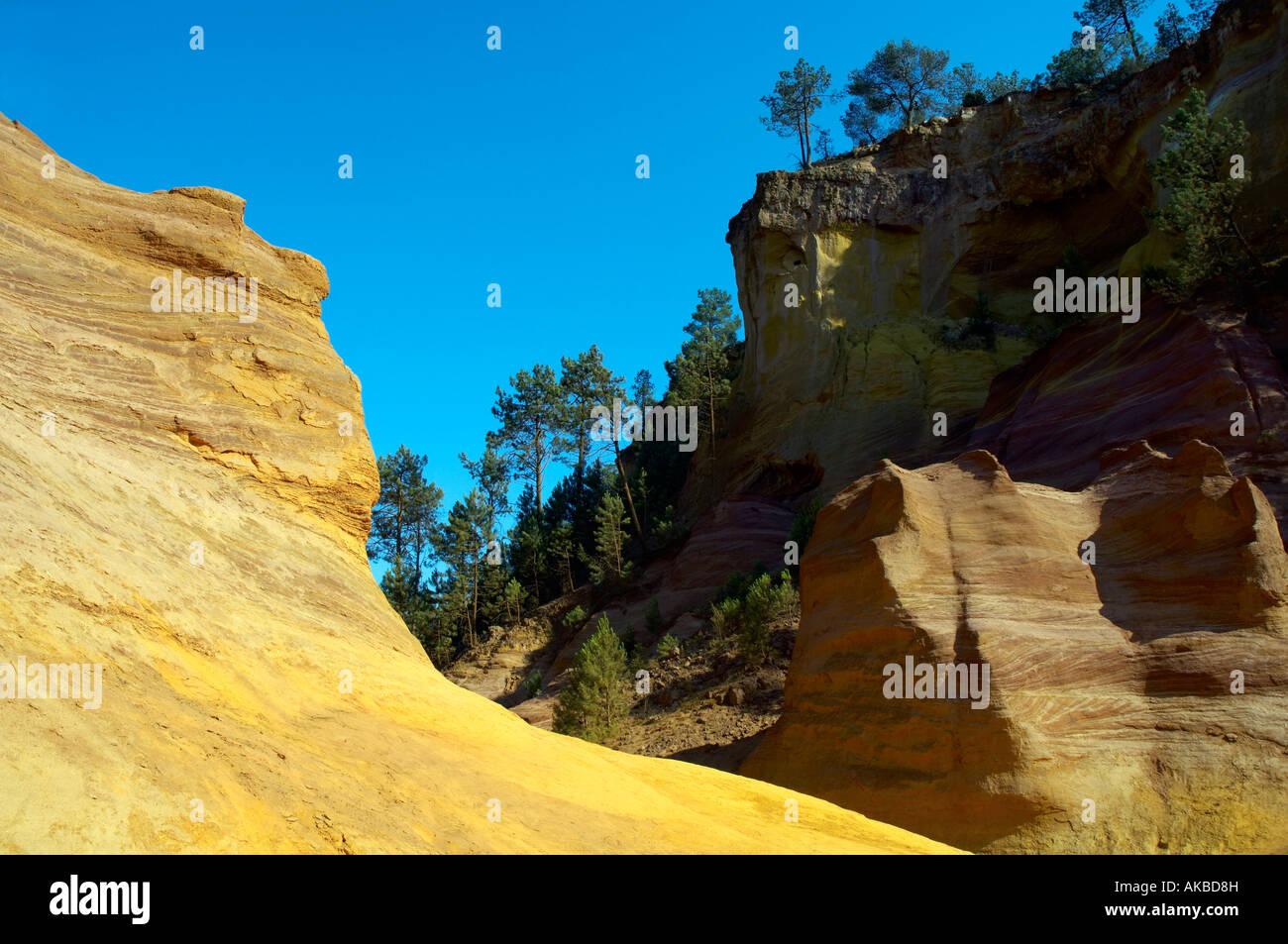 Roussillon Colorado Provencal Photo Stock Alamy