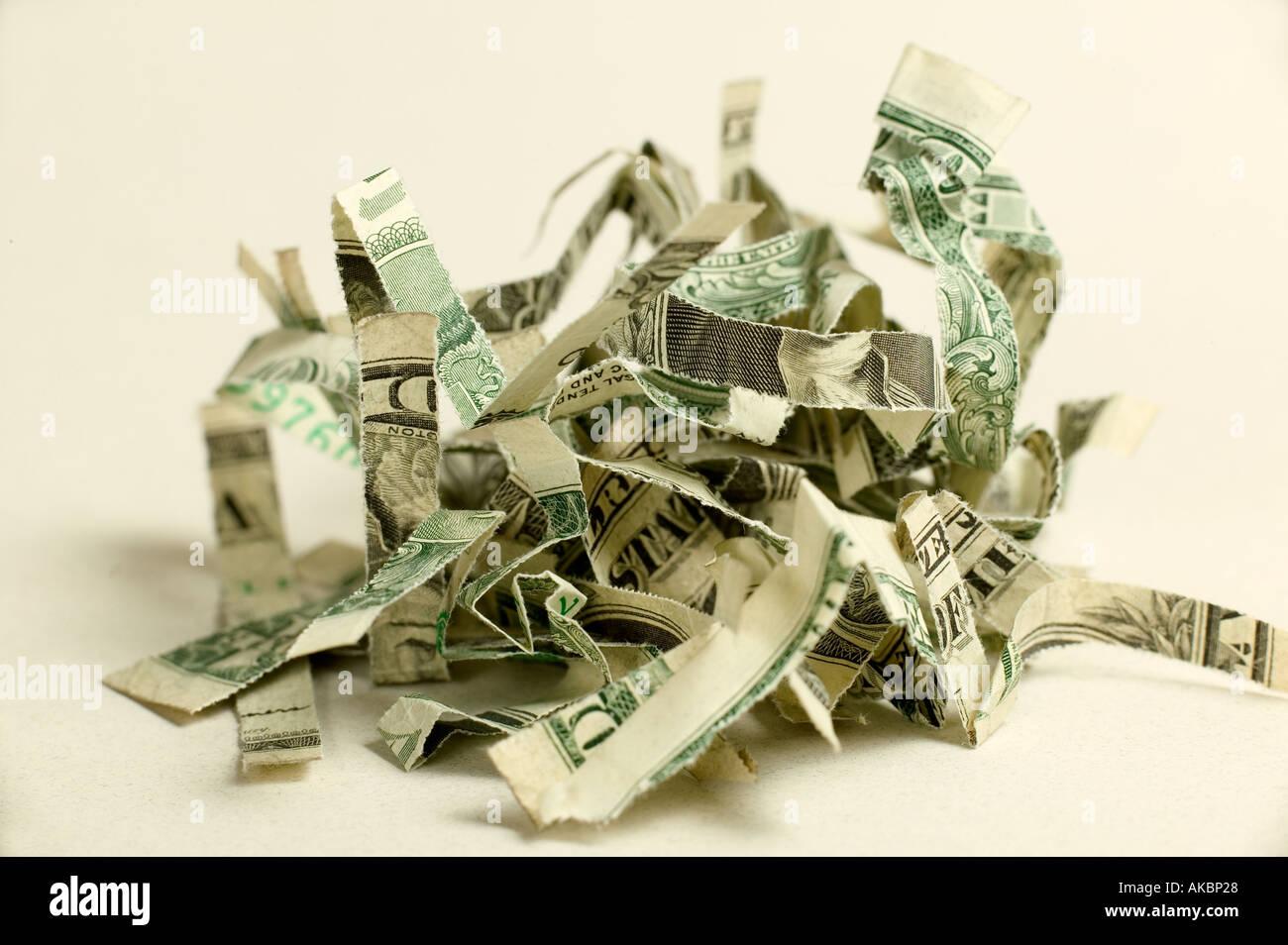Pile d'argent, râpé Photo Stock