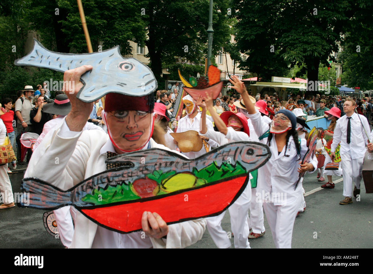 Carnaval des Cultures, Kreuzberg, Berlin, Allemagne Photo Stock