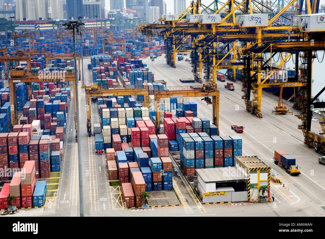 Containers Terminal Photosamp; Psa Photosamp; Containers Shipping Psa Terminal Shipping tsdQhrC