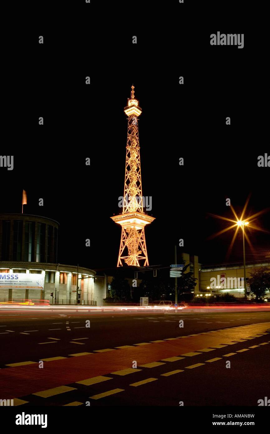 Tour de télécommunication à Berlin Photo Stock