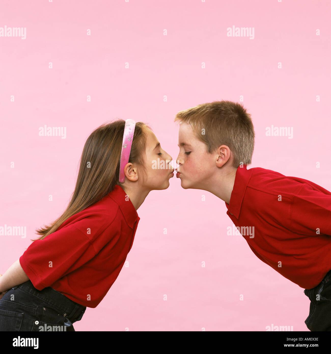 Jeune amour Photo Stock