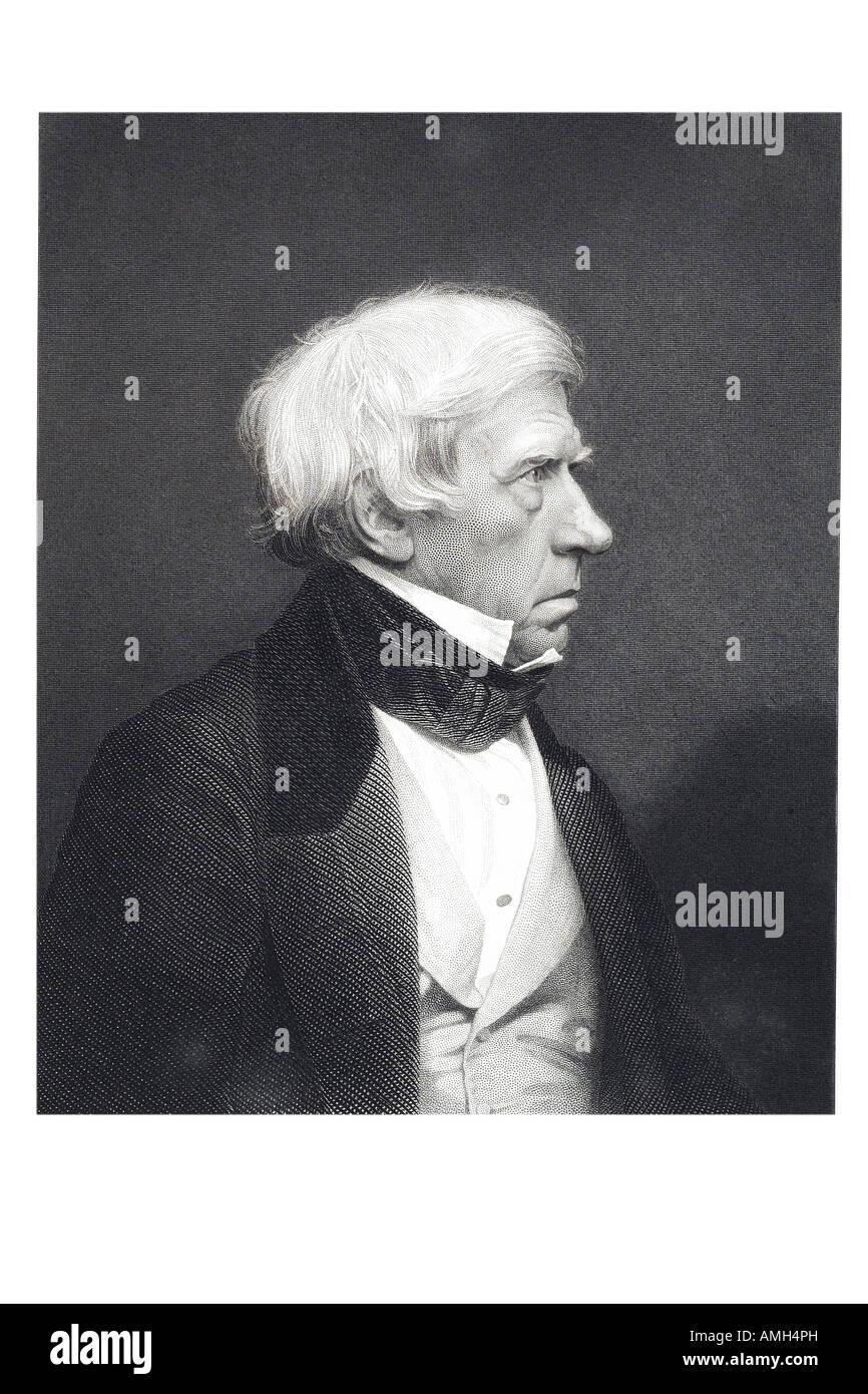 Lord Brougham Très Honorable Henry 1er baron de Vaux 1778 1868 Lord High Chancellor Grande-bretagne homme d'État Photo Stock