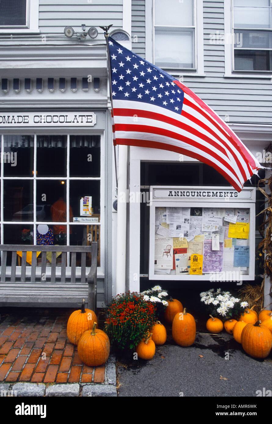 États-unis Connecticut Country Store Banque D'Images