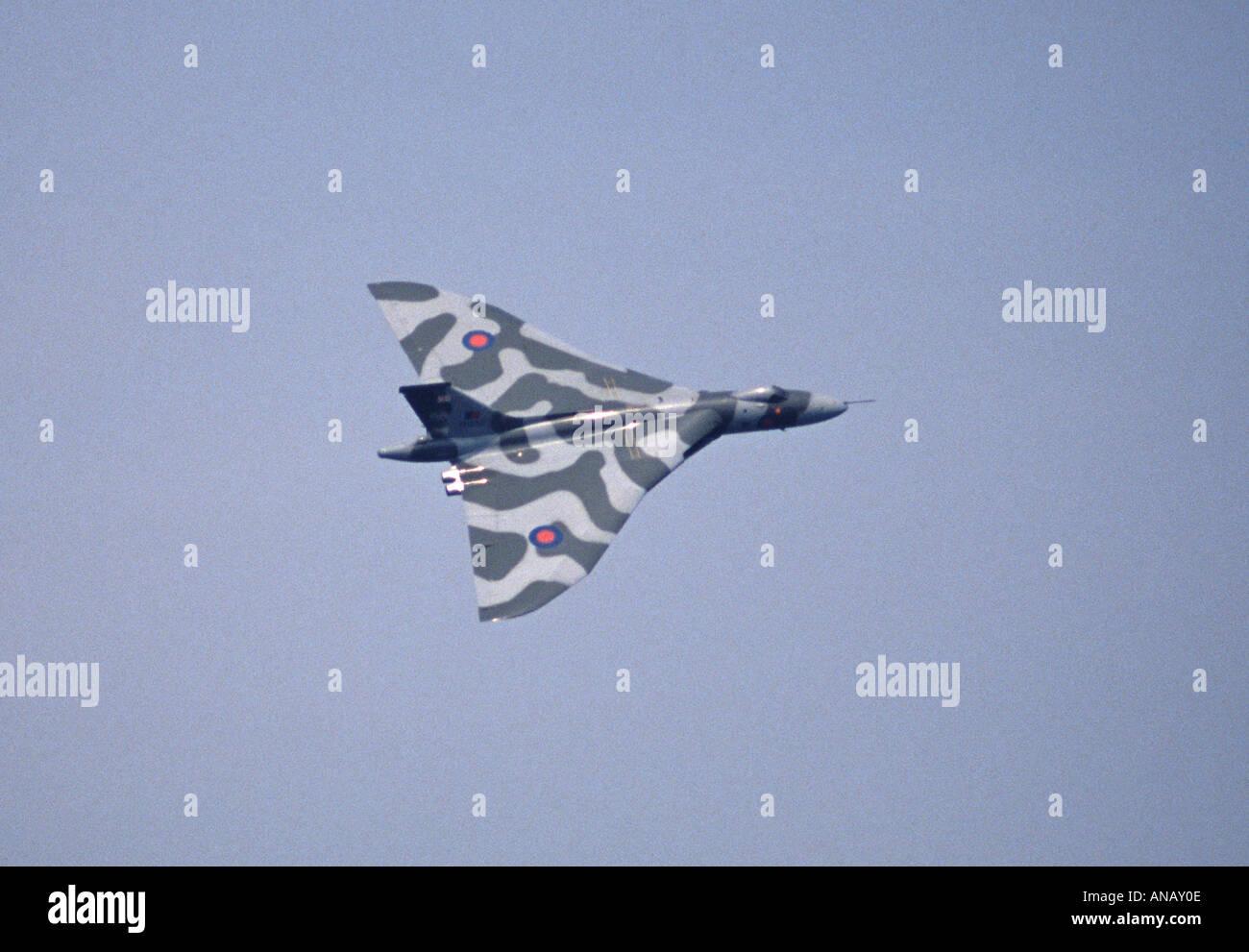 Bombardier à long rayon d'Avro Vulcan Photo Stock
