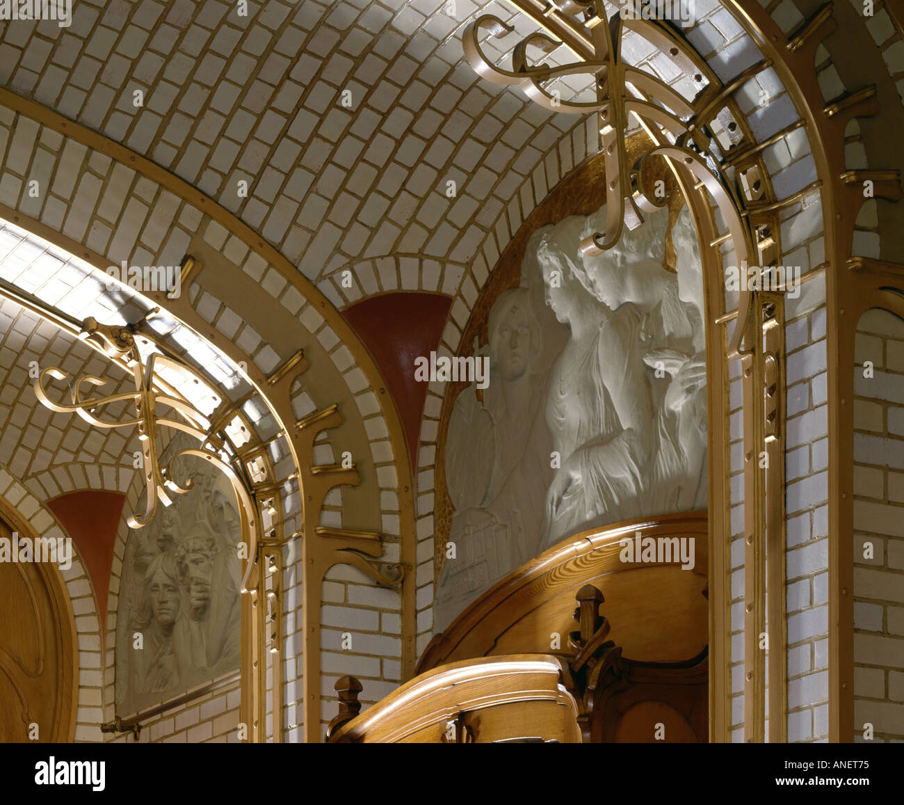 Musee Horta Bruxelles 1898 1906 Salle A Manger Avec Plafond