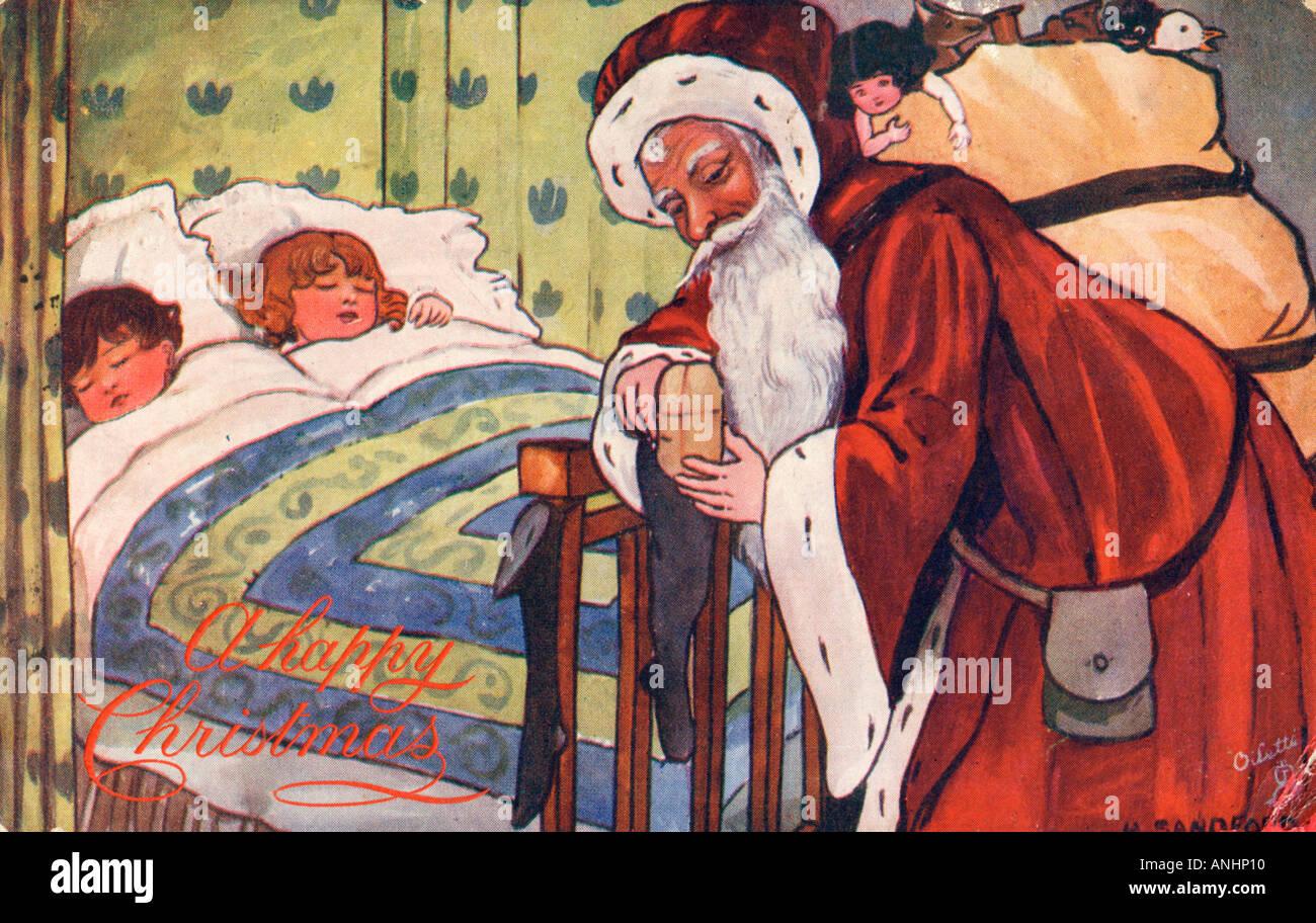 Le Père Noël Photo Stock