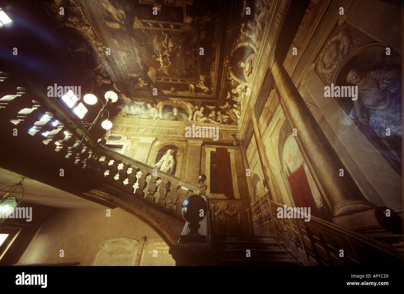 Aix En Provence France Trompe L Oeil Fantastique Escalier