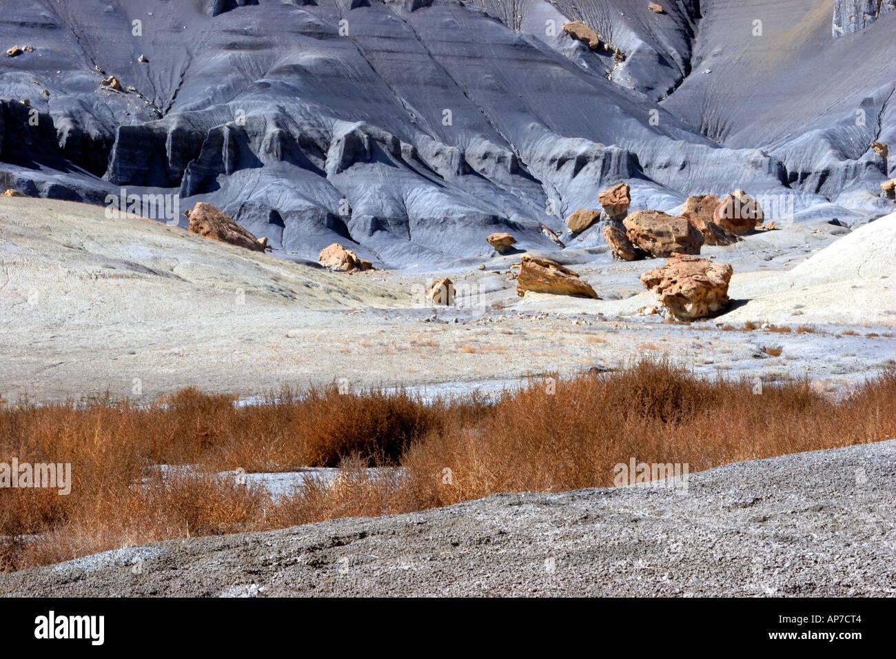 Banc de mamelon badlands, Glen Canyon, Utah Banque D'Images