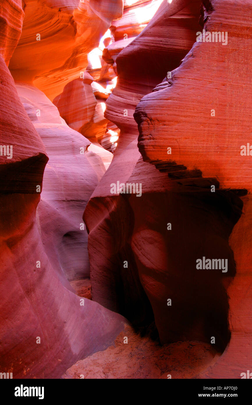 Lower Antelope Canyon, Arizona,page Banque D'Images