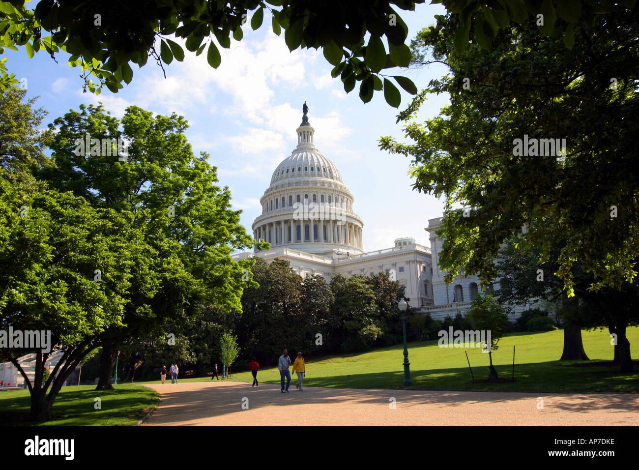 Us capitol, washington dc Banque D'Images