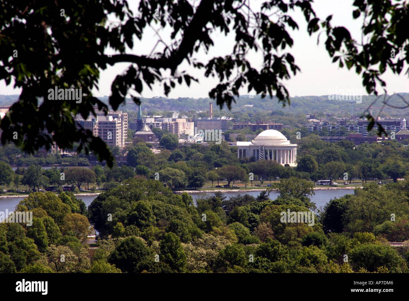 Jefferson Memorial, Washington DC Banque D'Images