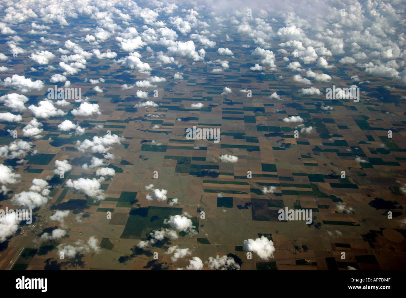 Au cours de l'Amérique moyenne cloudscape Banque D'Images