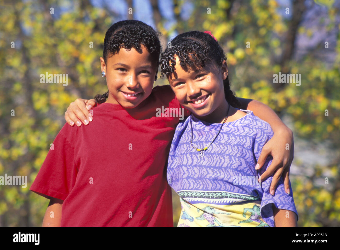African american girls 1 parution photo stock