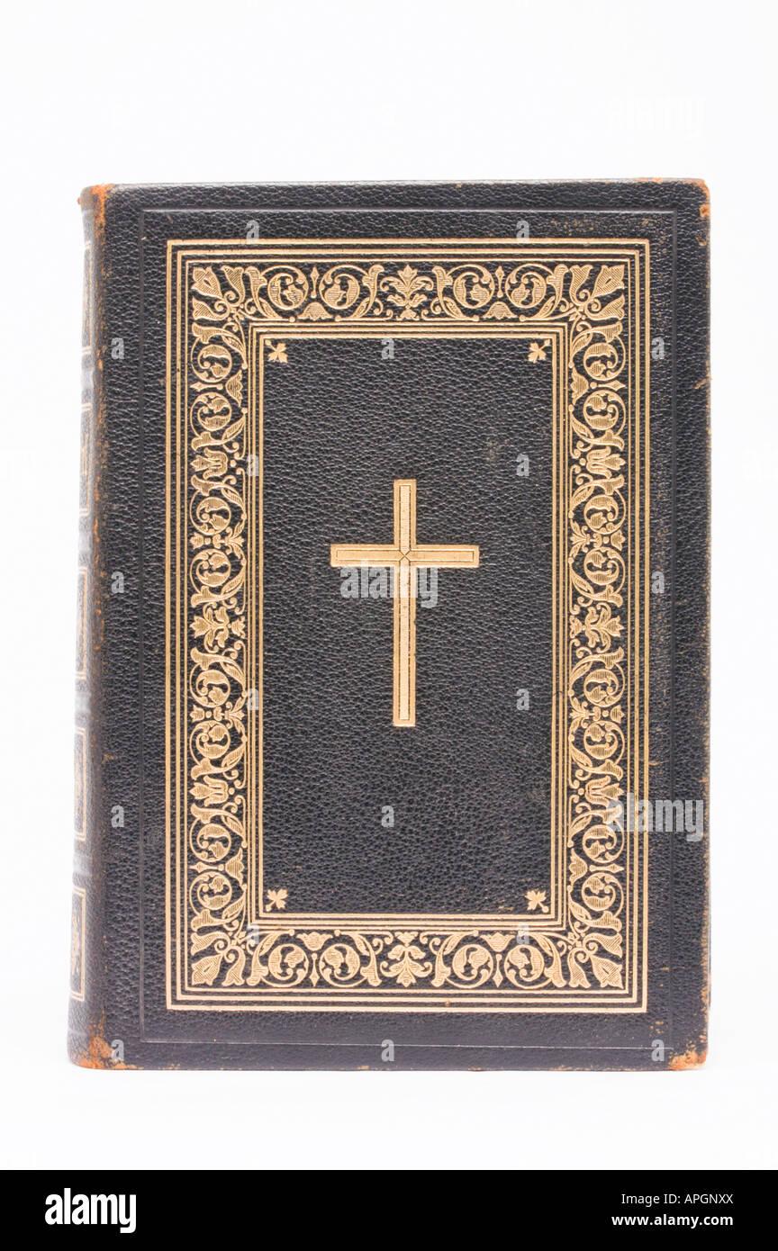 Bible allemande antique Banque D'Images