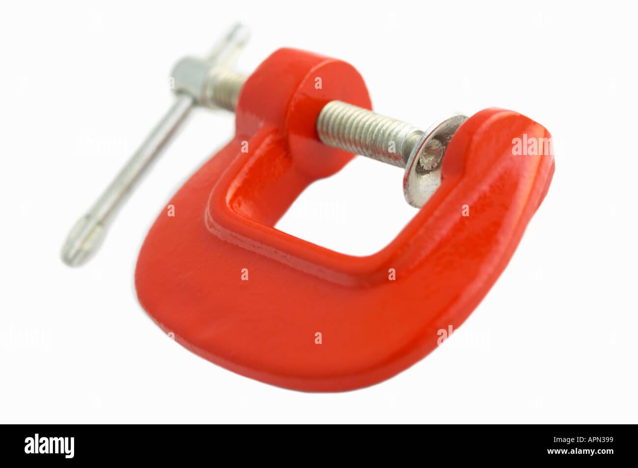 Collier G objet isolé - concept de compression Photo Stock