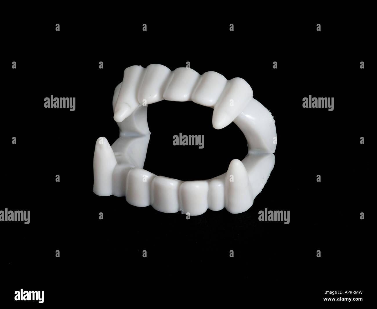 vampire de dents Photo Stock