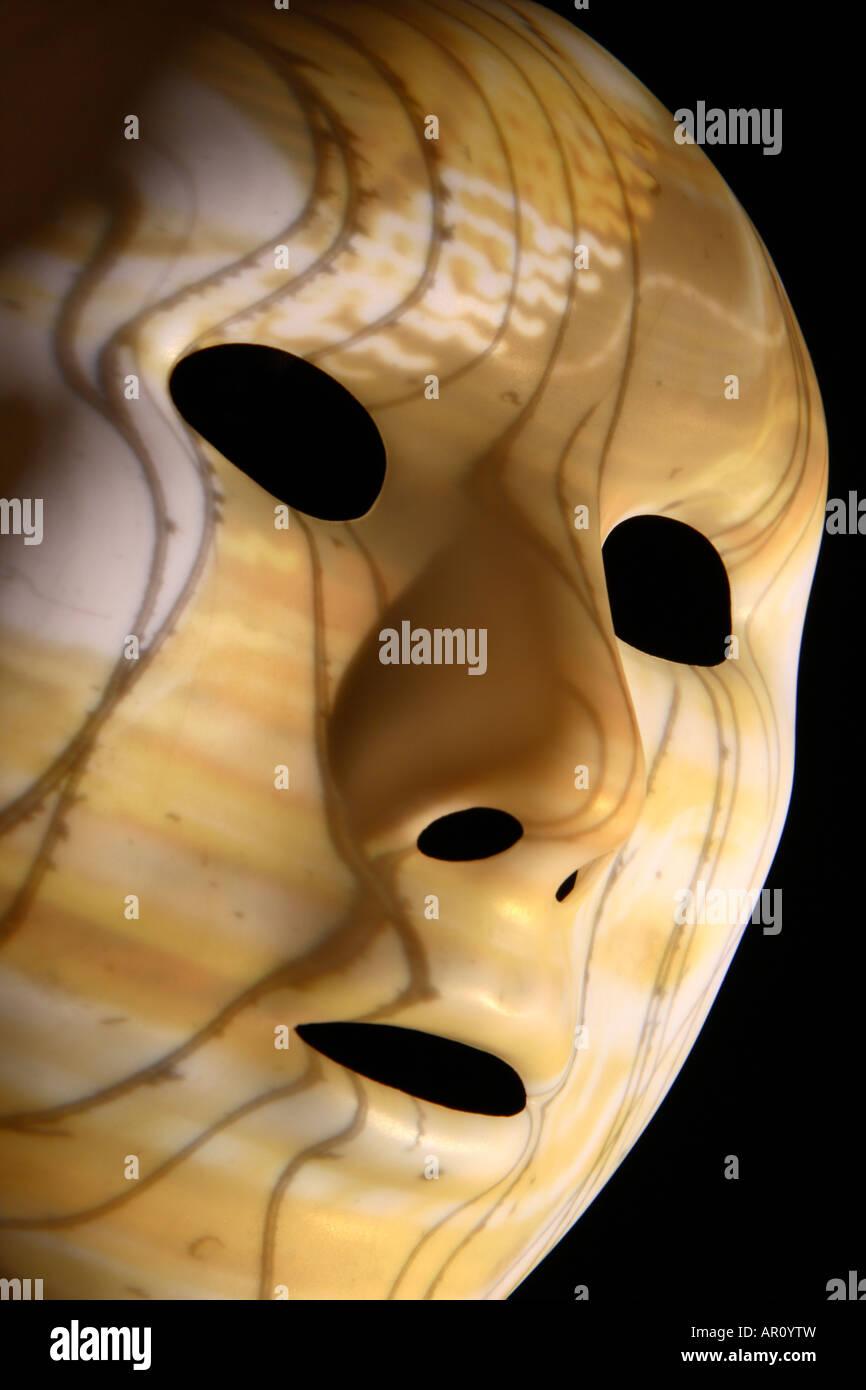 Thriller, masque de visage. Photo Stock