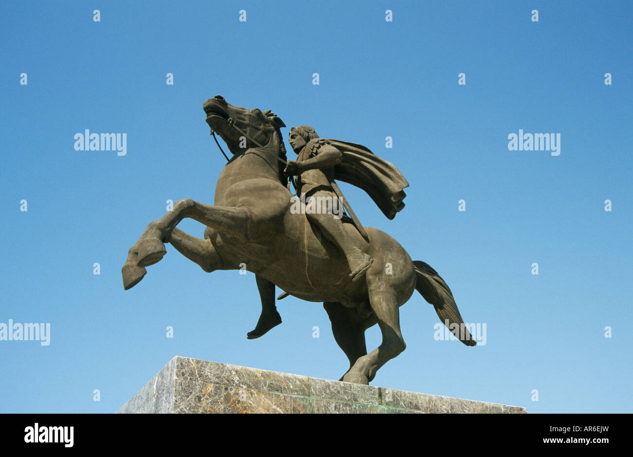 Statue d'Alexandre le Grand Photo Stock