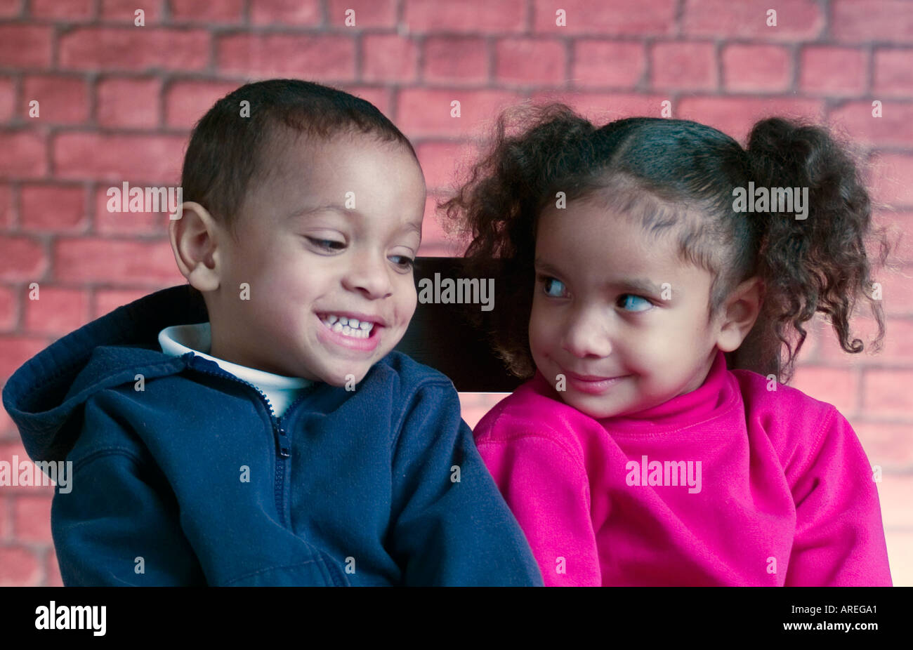 Pictures Of African American Twins Boy And Girl