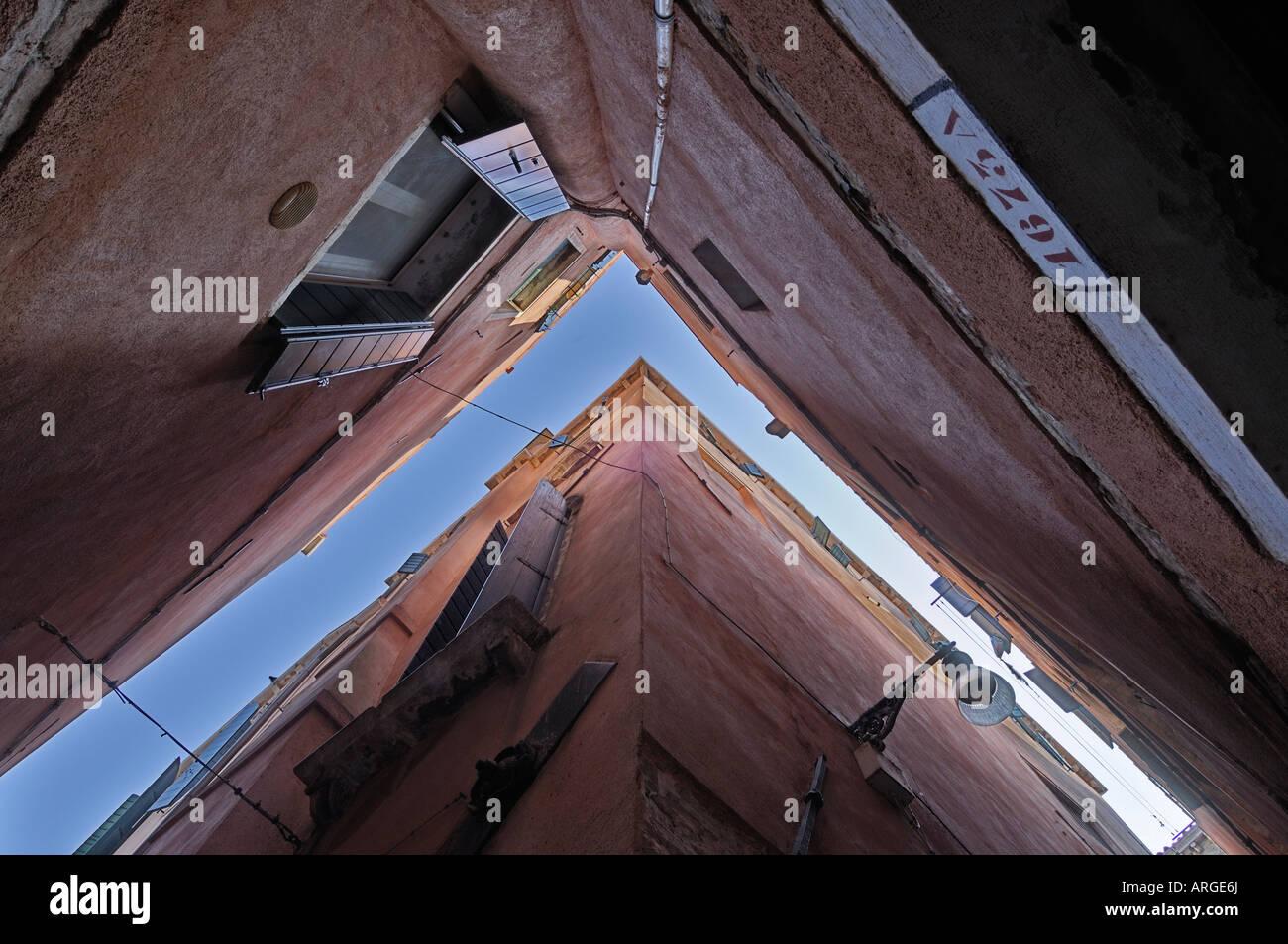 L'extérieur des bâtiments, Venise, Italie Banque D'Images
