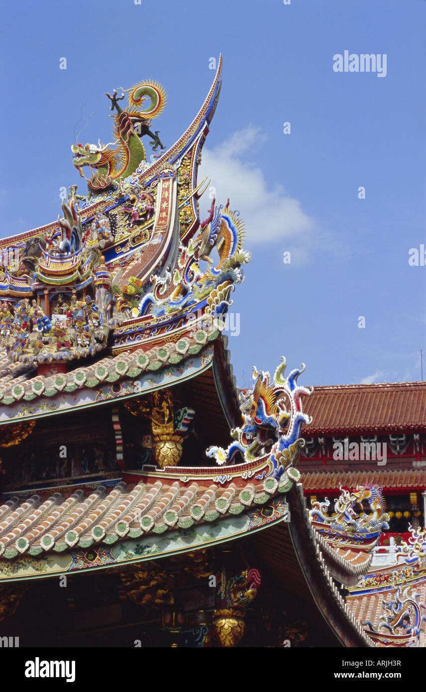 Détail architectural, Taipei, Taiwan, République de Chine, Asie Photo Stock