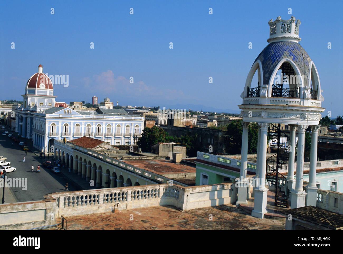 Cienfuego, Cuba, Antilles, Amérique Centrale Photo Stock