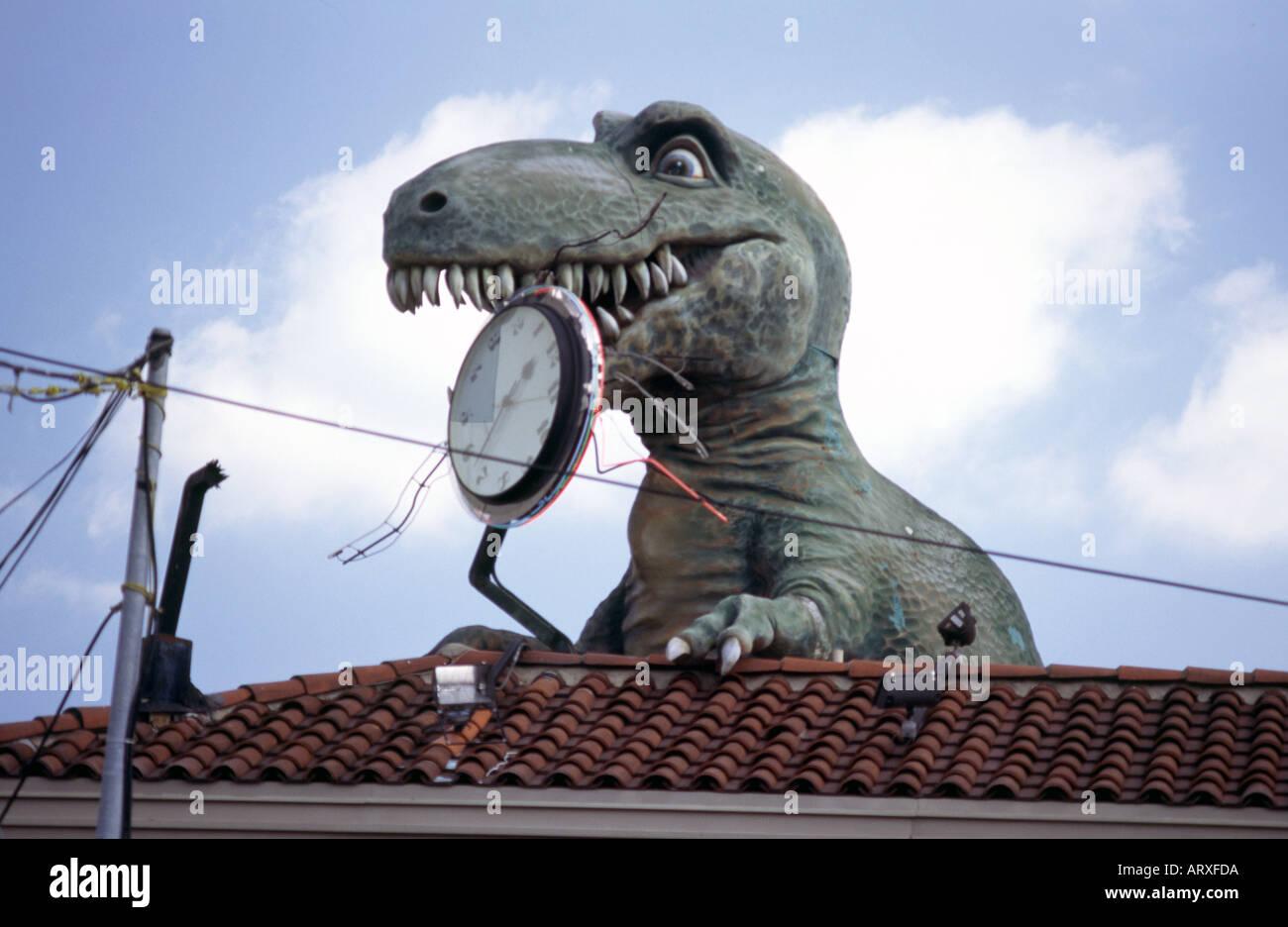 Ripley s believe it or not t-rex Photo Stock