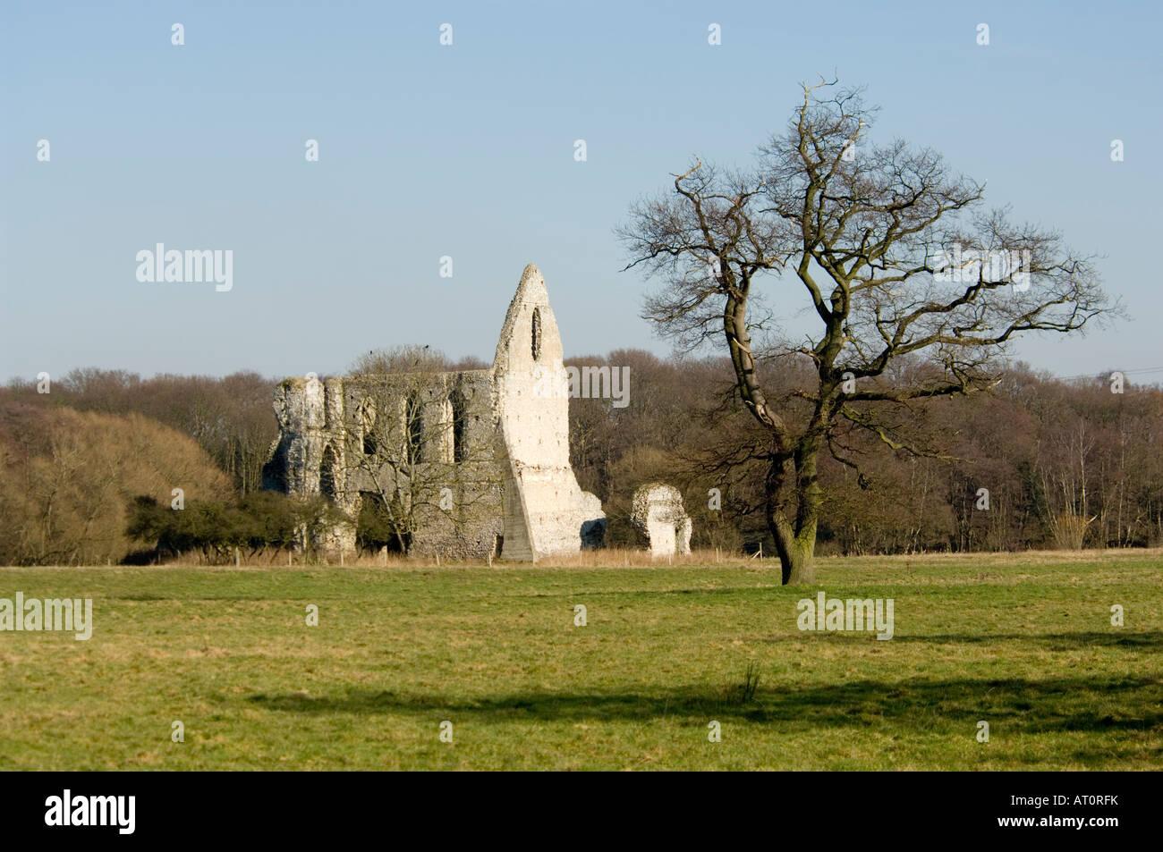 Newark Priory Ripley Surrey UK Photo Stock