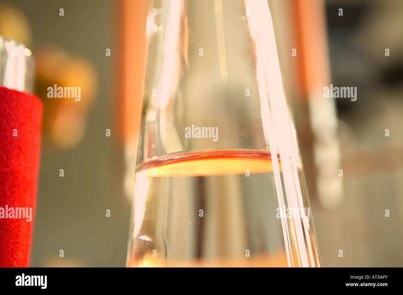 Une carafe d'eau Photo Stock
