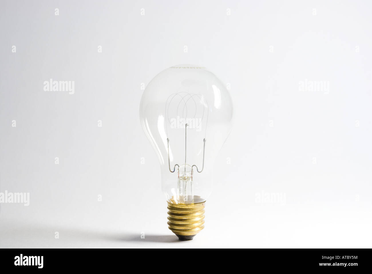 Ampoule, close-up Photo Stock