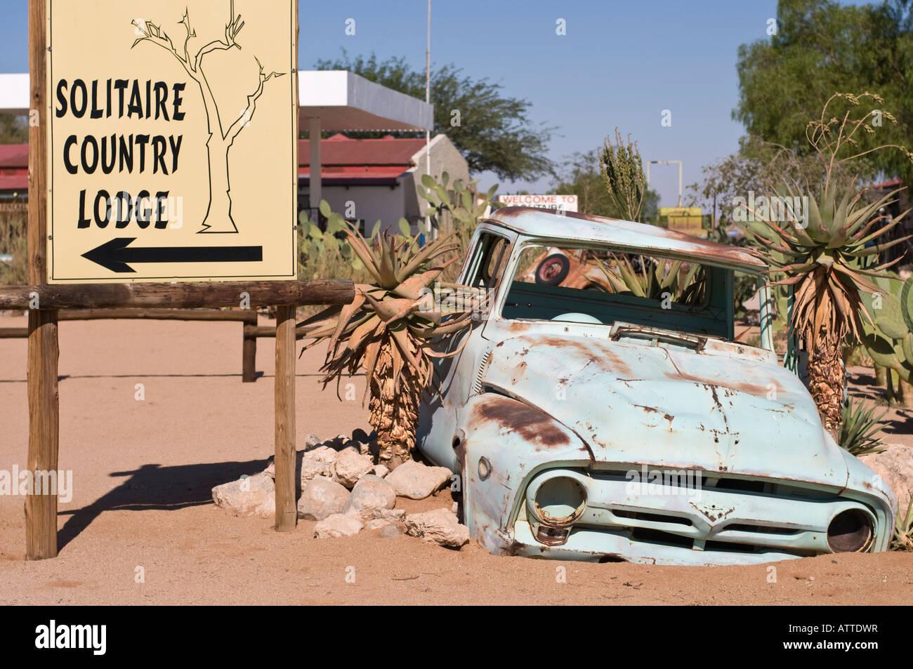 La Namibie Solitaire Photo Stock