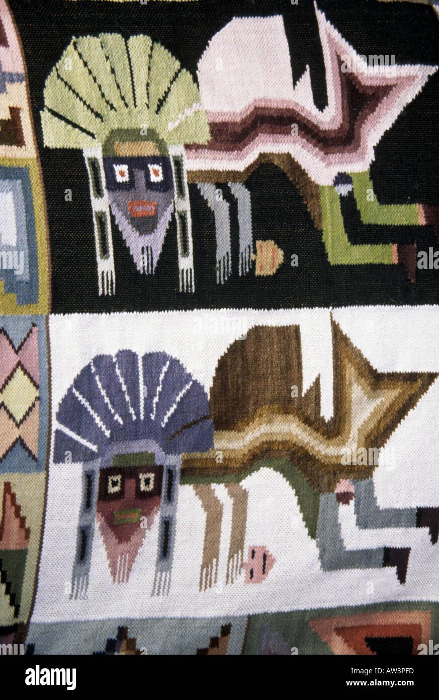 Pérou - créations textiles Photo Stock