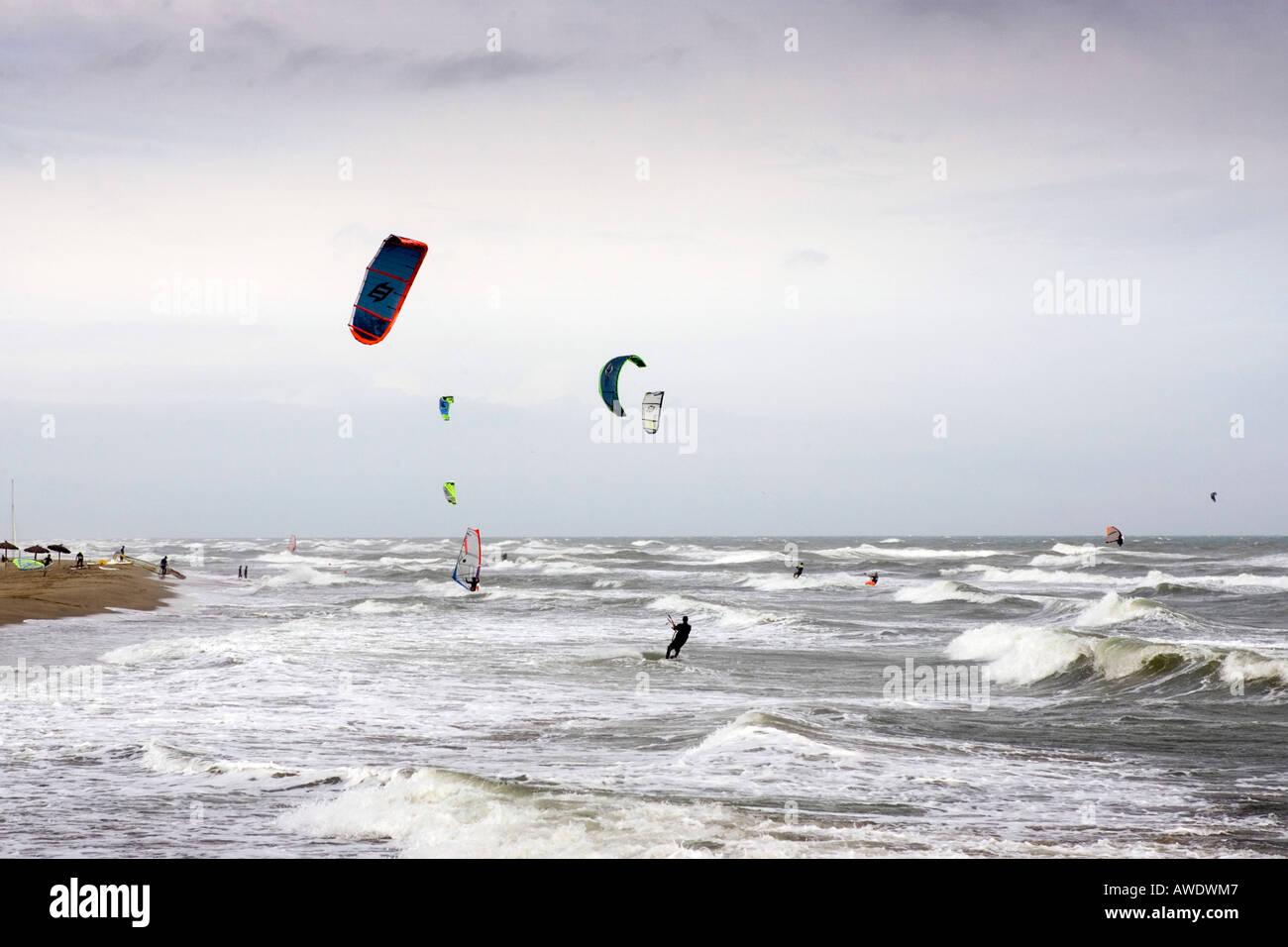 parachute ascensionnel leucate