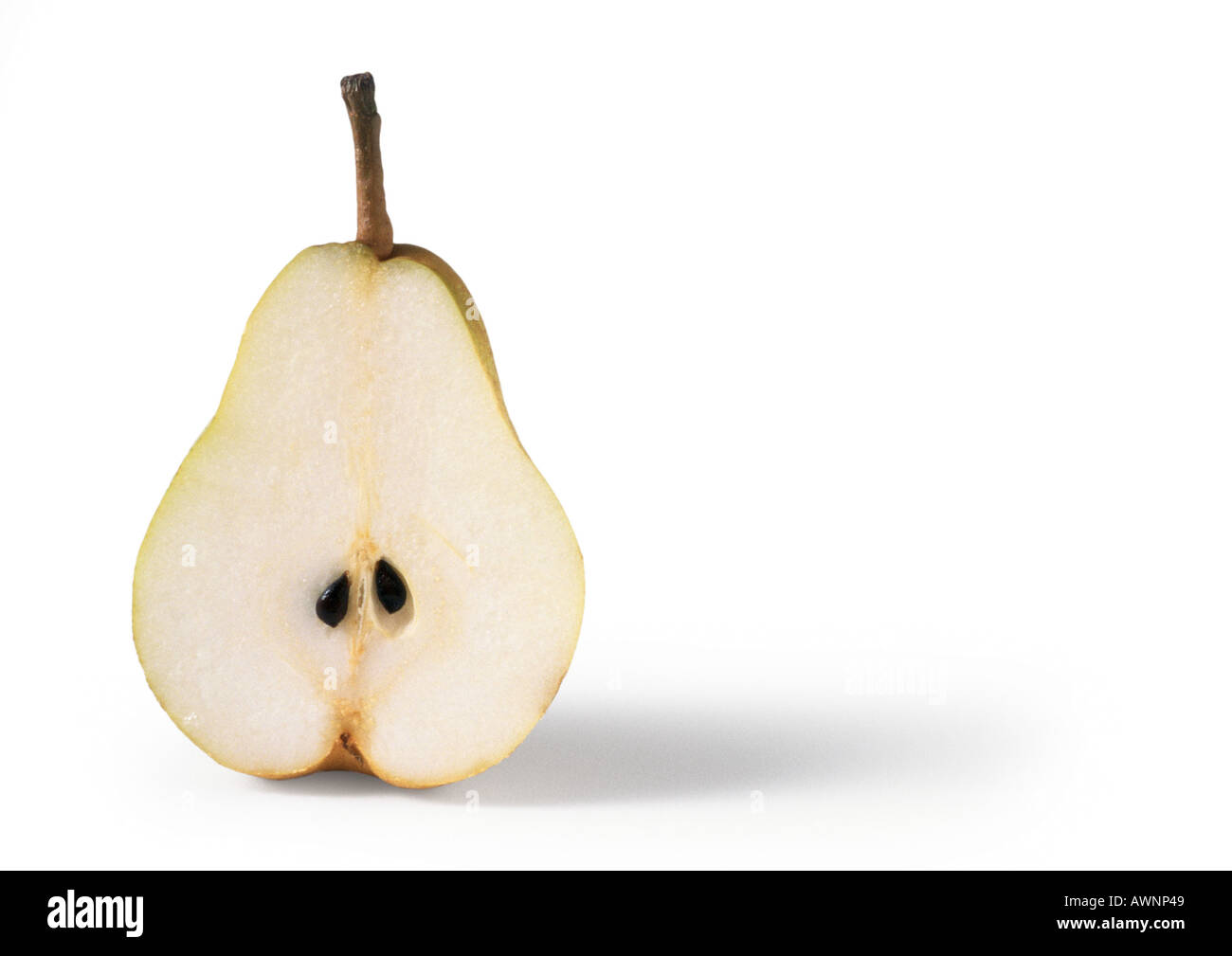 Demi-poire, close-up Photo Stock